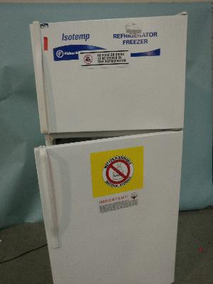 Fisher Scientific Isotemp Laboratory Refrigerator Freezer
