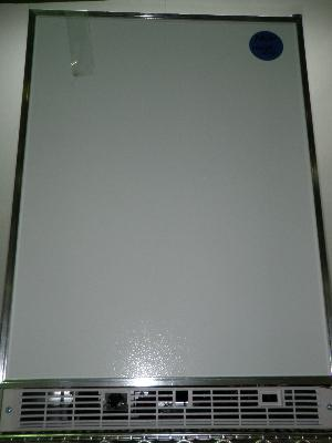 Marvel Industries Bench Refrigerator Freezer Tagged as Never Used