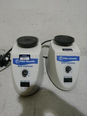 Lot of 2 Fisher Scientific Analog Mini Vortexers
