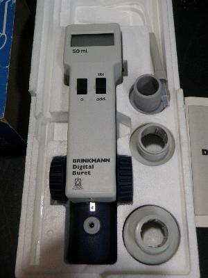 Brinkman Instruments Brand Digital 50 ml Buret