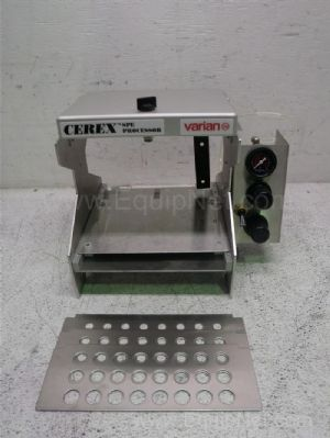 Varian Cerex Spe Processor Test Tube Evacuator
