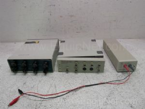 Lot of 3 Assorted Electrophoresis Amplifiers