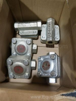 Lot of 5 Gestra Inc MK55/3210NN Steam Traps