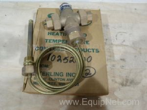 Lot of (2) 0.5 inch Control Valves