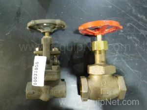 Lot of 2 Assorted Glove Valves