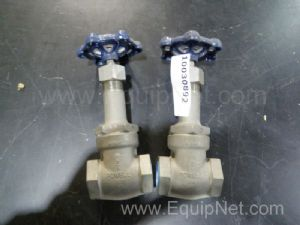 Lot of 2 Powell A-5641 Gate Valves