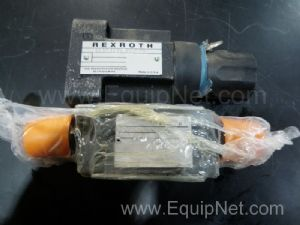 Lot of 2 Assorted Rexroth Valves