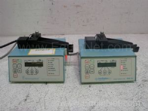 Lot of 2 Medfusion 1001 Syringe Infusion Pumps
