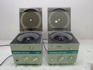 Lot of 2 Sorvall MC12V Microcentrifuges