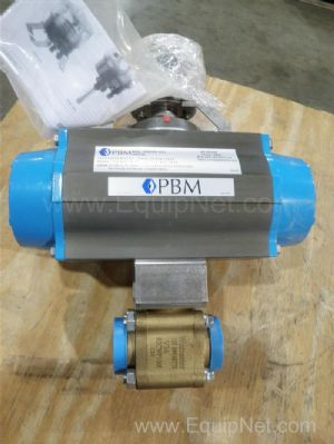 Lot of 6 Worcester On/Off Ball Valve