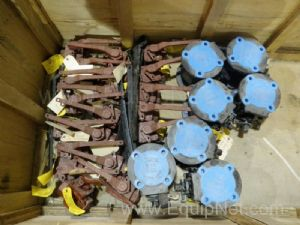 Lot of 28 Assorted Durco Plug Valves