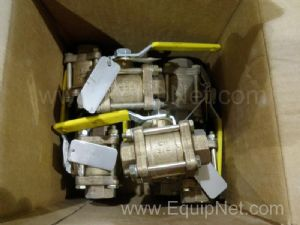 Lot of 10 Apollo 8214460 Ball Valves