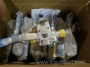 Lot of 19 PBM SP116S Ball Valves