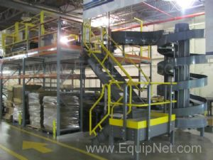 Pick and Pack Conveyor Line , Includes  Mezzanine and Back Up Operating System