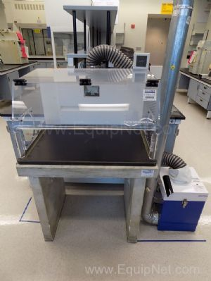 3 Foot Flow Sciences Air Flow Hood with Filter Trap