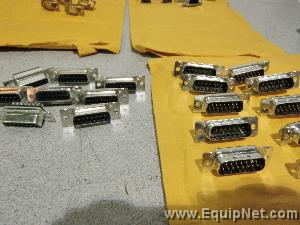 Lot of Assorted Male and Female Pin Connectors