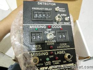 Lot of 2 New Jersey Machine Detector Control Boards