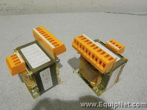 J.Schneider Step Down Transformers Model MSTEL100 Lot of (2)