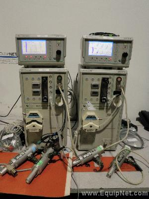 Lot of 2 Applikon ADI Series Laboratory Bio Reactor Systems