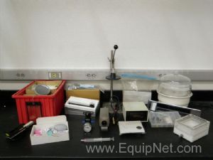 Lot of assorted Lab equipment parts