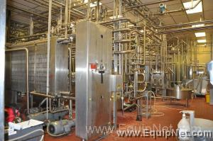 Dairy Mix Making Processing Line 1|Several Great Dane Refrigerated Trailers