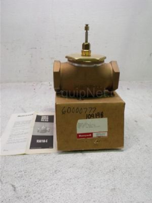 Lot of 2 Honeywell V5011A-C Single Seated Valve