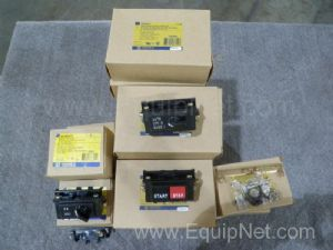 Lot of 24 Square D  Miscellaneous Electrical