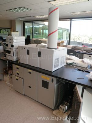 Agilent 6510 Q-TOF Mass Spectrometer with 1200 Series HPLC