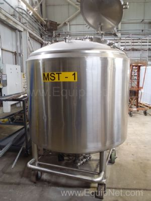 Lee Industries 500 Gallon Jacketed Tank  MST-1