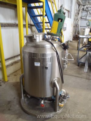 Lee Industries 50 Gallon Jacketed Mixing Vessel