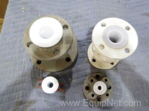 Lot of 4 Assorted Piping