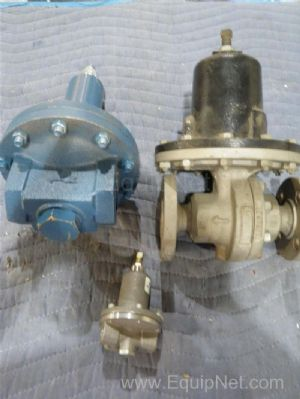 Lot of 3 Assorted Pressure Refief Valves