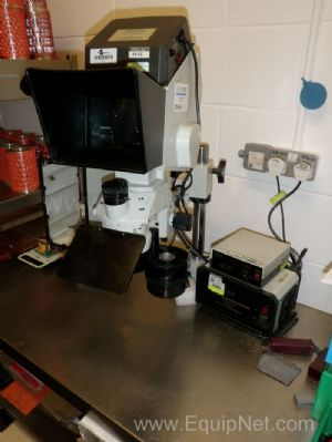Vision Eng TS3 Stereo Dynascope Bench mounted Workshop Inspection Microscope