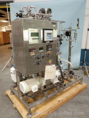 Precision Stainless 5-10 Gallon Reactor w/ Millipore Frame Mounted Filtration and Pump Unit