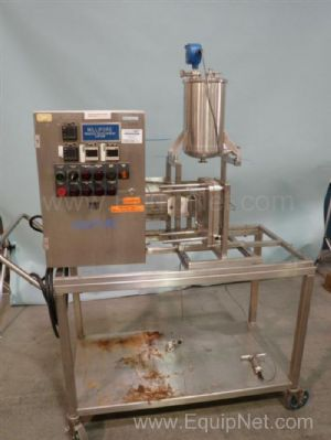 Millipore Pump and Filtration Skid