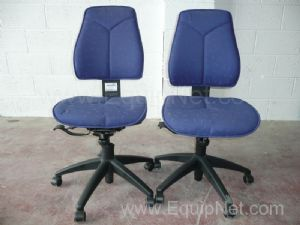 Office chairs - 1 lot of 2