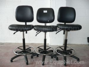 Office chairs (adjustable) - 1 lot of 3