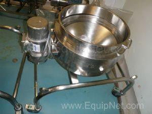 Russel Series AA Compact Airlock Mobile Stainless Steel Sieve