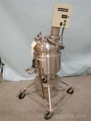 50 Liter Jacketed Mix Tank