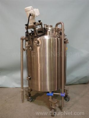 Lee Industries 250LU 250 Liter Steam Jacketed Stainless Steel Mix Tank