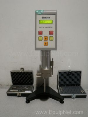 Brookfield model RVDVI+CP Viscometer with spindle set