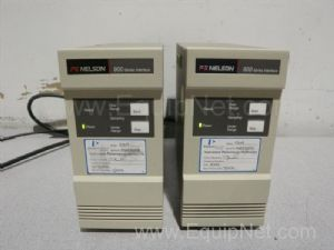 Lot of 2 PE Nelson  900-Series Chromatography Interfaces