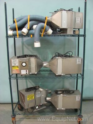 (5)Lab Products Air Supply Units Model 59015