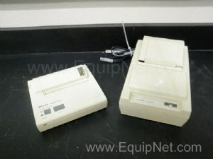Lot of 2 various models, various manufacturer printers