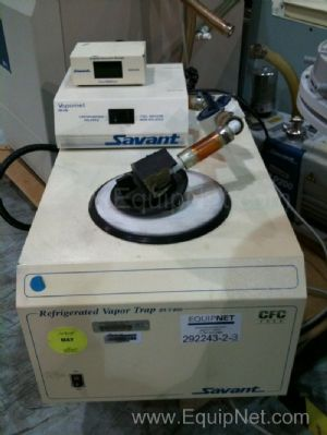 Savant Centrifuge Speed Vac Plus Model SC210A-120 With Vapor Trap & Vacuum Pump