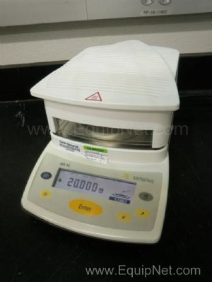 Sartorius model MA 45 Moisture Analyzer