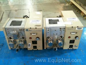(2) Waters/Millipore HPLC Pump Model 510 Solvent Delivery System