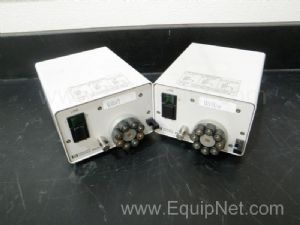 Lot of 2 Hewlett Packard model 89052B Peristaltic Pump