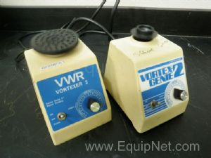 Lot of 2 VWR model Vortex Genie 2 Vortex Mixers
