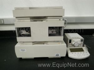 lot of 3 Agilent series 1100 HPLC Assorted parts